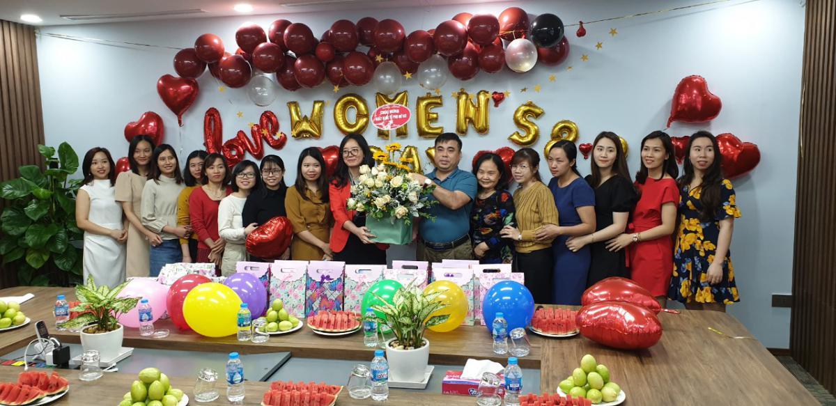 ZME rực rỡ chào mừng ngày Quốc tế phụ nữ 8-3