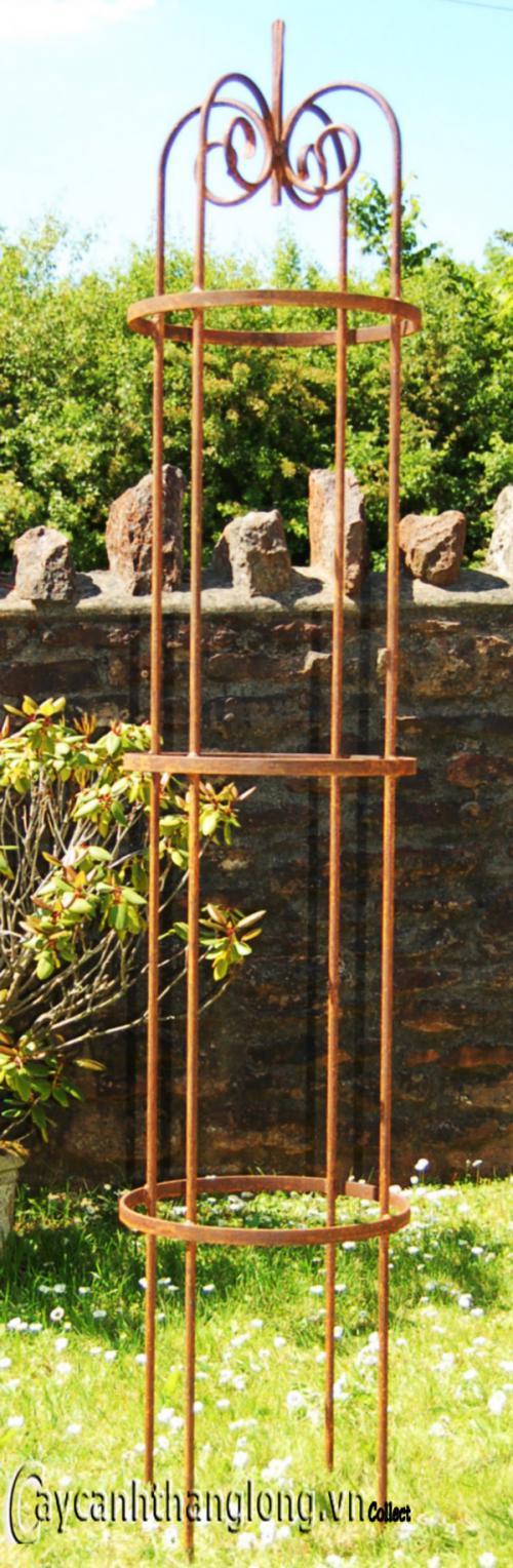 Giá sắt giàn hoa hồng 08