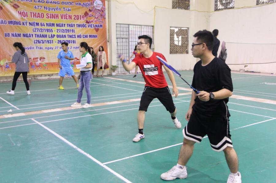 Hội thao sinh viên - Môn cầu lông