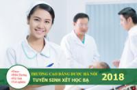 Cao đẳng Dược Hà Nội thông báo tuyển sinh 2018
