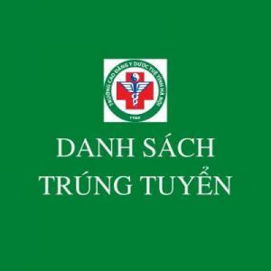 Danh dách sinh viên đăng ký ngành Y sĩ Y học cổ truyền 2021