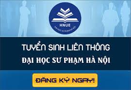 Tuyển sinh đại học liên thông trường Đại học Sư phạm Hà Nội