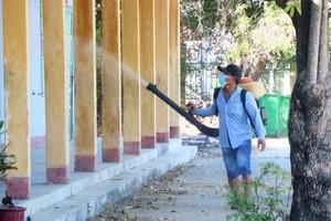 Hà Nội: Khử khuẩn, vệ sinh môi trường lần 2 tại các trường học vào ngày 7 và 8/2