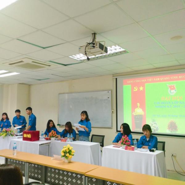 Đại hội chi Đoàn 2019 - 2020