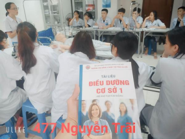 Thực hành môn điều dưỡng cơ sở 1