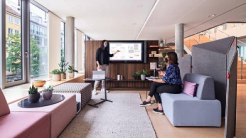 Thiết kế văn phòng sẵn sàng chung sống với Sac-Cov