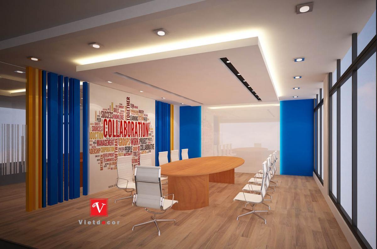 Thiết kế và thi công nội thất văn phòng   ADT- Hà Nội