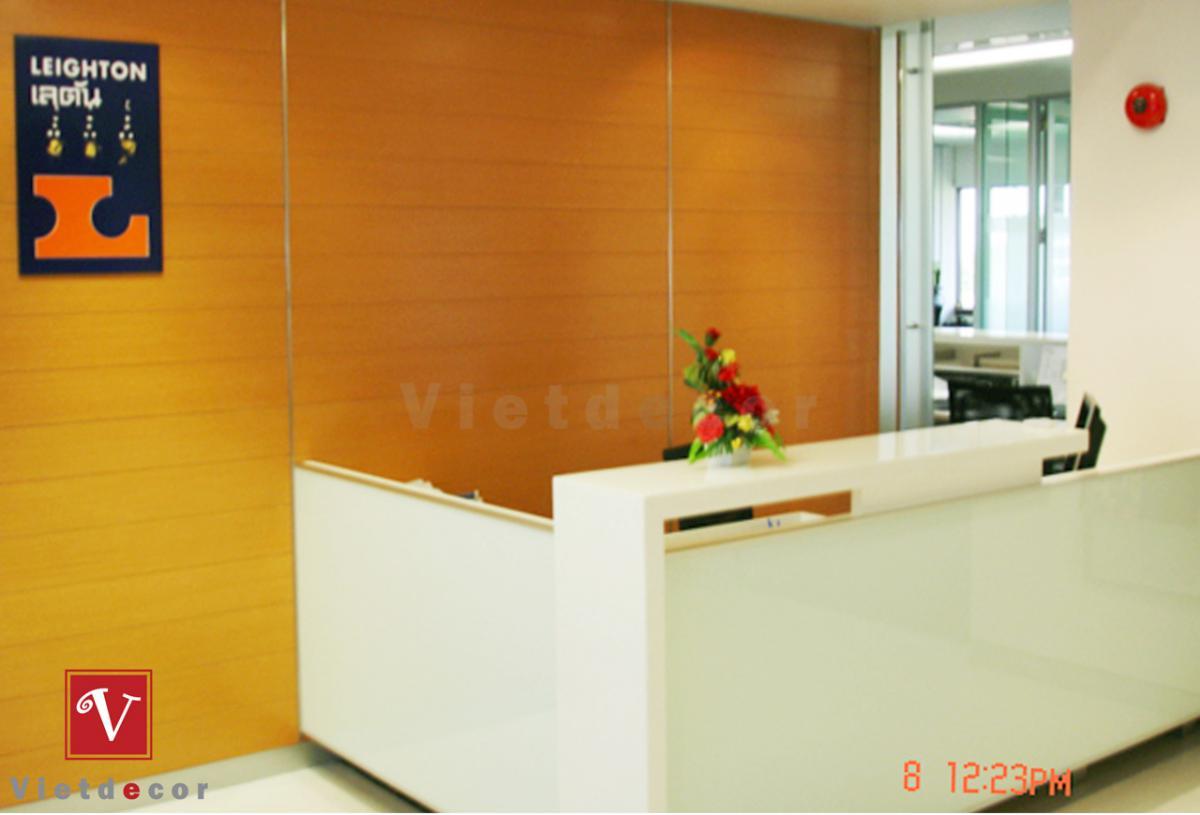 Thiết kế thi công nội thất văn phòng công ty S-ANNA