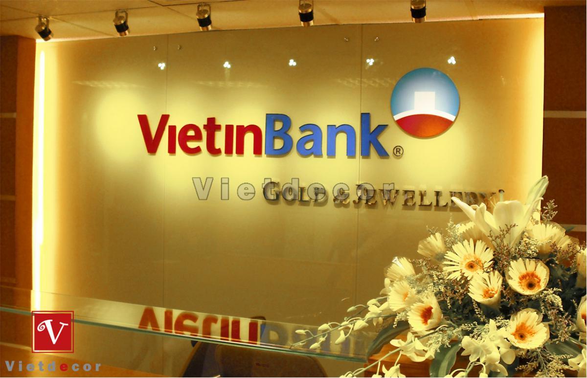 Nội thất phòng giao dịch TMCP Công thương Việt Nam