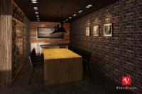Thiết kế nội thất văn phòng bếp trưởng tòa nhà Lotte