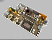 Thiết kế thi công nội thất văn phòng công ty GROUPAMA