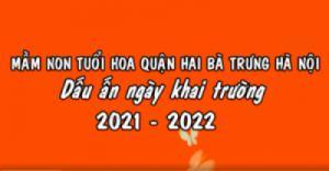 DẤU ẤN NGÀY KHAI TRƯỜNG 2021 - 2022