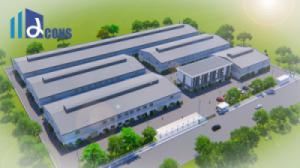 ALPHA trúng thầu thiết kế và thi công xây dựng 3 nhà máy cho đối tác Trung Quốc