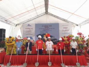 Lễ khởi công nhà máy Dệt may Đại Hoa (Việt Nam)