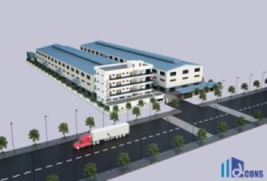 ALPHA trúng thầu thi công xây dựng Nhà máy Dệt may Đại Hoa (Việt Nam)