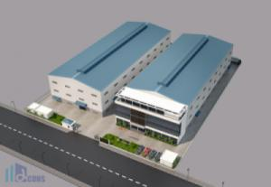 ALPHA trúng thầu thiết kế và thi công xây dựng Nhà máy Good Paper Packaging Industrial (Việt Nam)