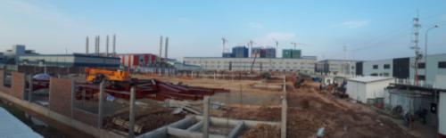 Cập nhật tiến độ thi công Dự án Nhà máy cơ khí SONG THỊNH tháng 5.2021