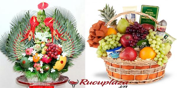 Giỏ quà tết hoa quả