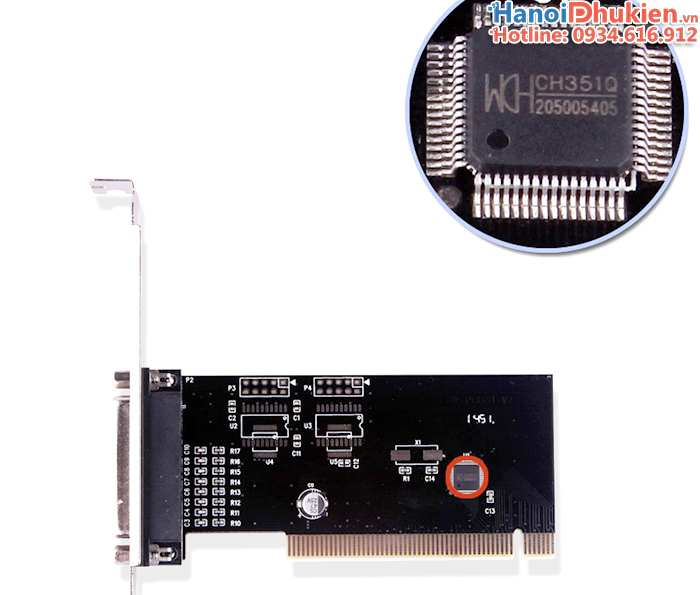 Card chuyển đổi PCI sang LPT DB25