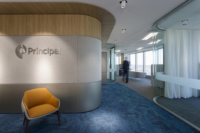 thiết kế nội thất văn phòng khu vực lễ tân