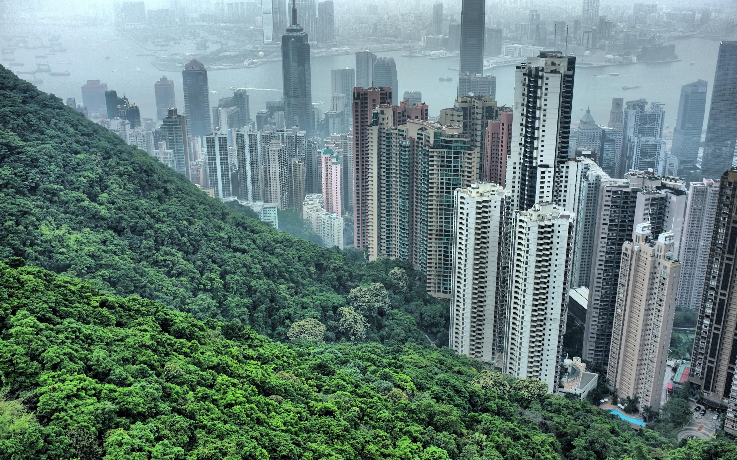 Từ núi Thái Bình nhìn xuống