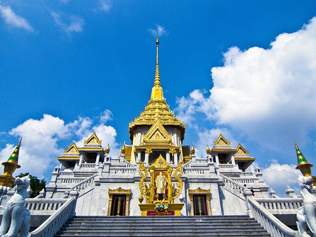 Chùa Núi Vàng- Wat Saket