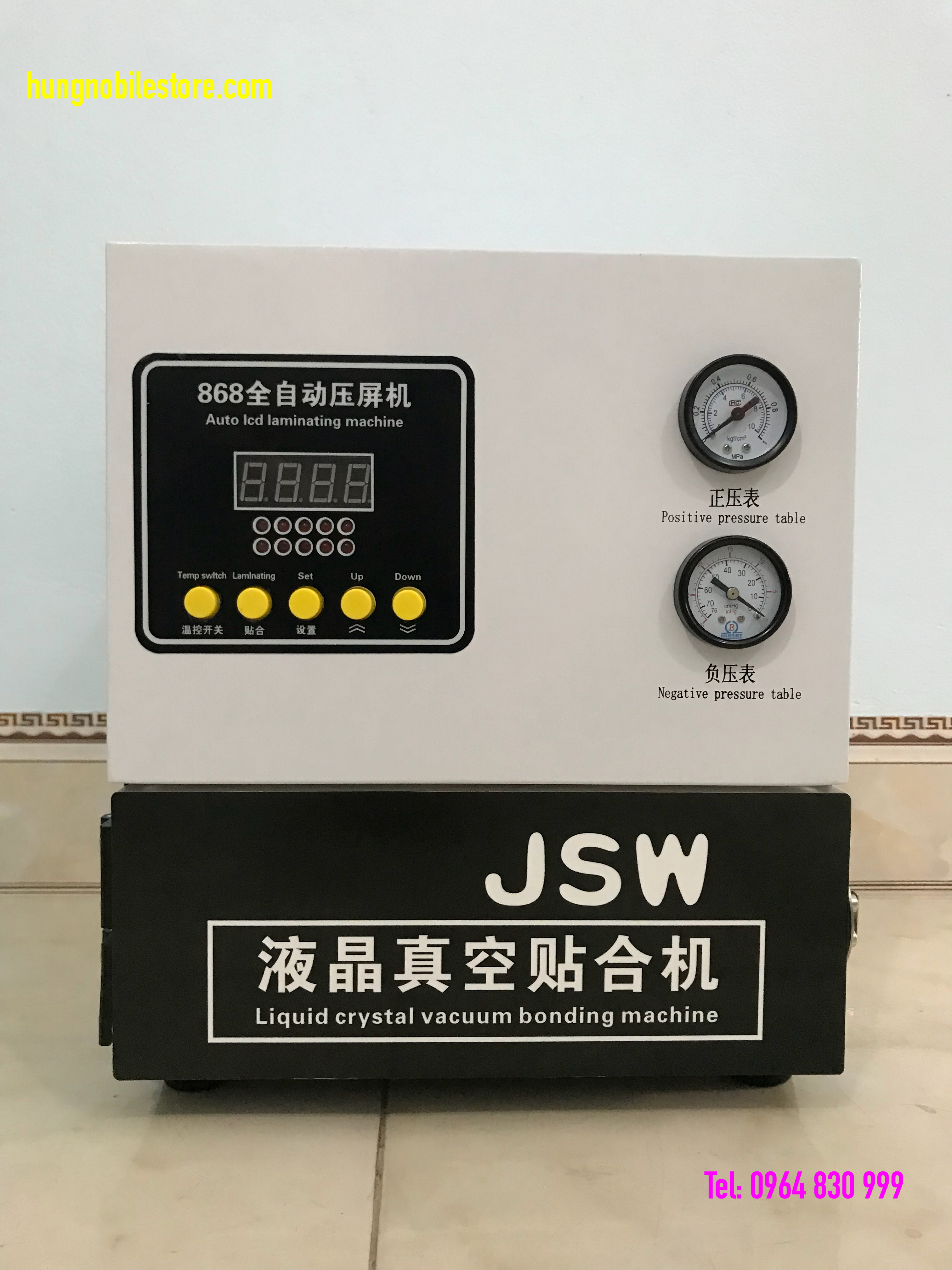 Máy ép kính 13 inch nhập khẩu thương hiệu Jin Shiwang