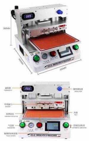Máy ép kính 15 inch nhập khẩu thương hiệu Jin Shiwang