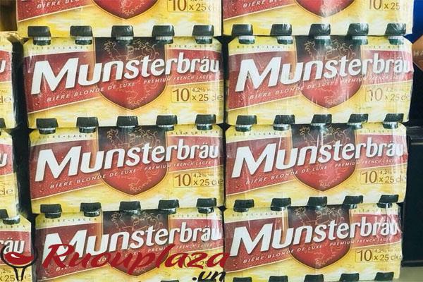 Bia pháp Munsterbrau
