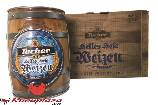 Bia bom đức Tucher 5 lít