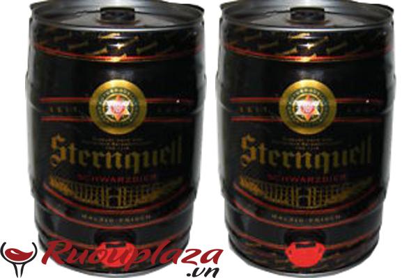Bia đen đức Sternquell 5 lít