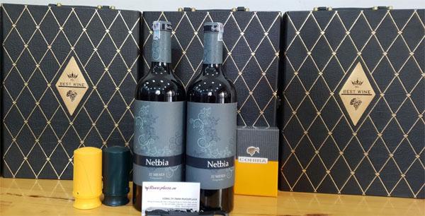 Rượu vang Nebbia Tempranillo 22 Messes
