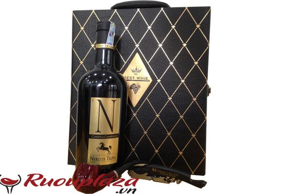 Rượu vang Ý N - Nero Di Troia