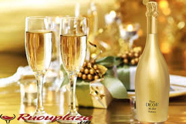 Rượu Sparkling Deor