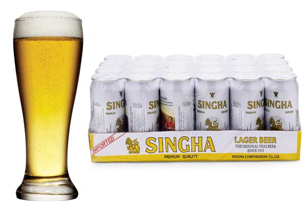 bia ngoại thái lan singha nhập khẩu