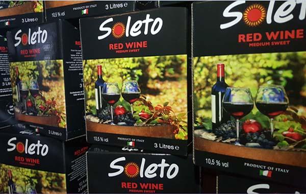 Kết quả hình ảnh cho bịch ngọt soleto redwine