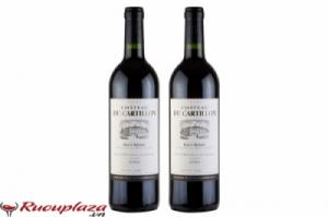 Rượu vang chateau du cartillon (cru bourgeois) - red