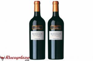 Rượu vang Pháp Bordeaux  Merlot Cabernet Premium