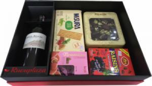 Hộp quà tết rượu vang Chile Santa Alicia M05