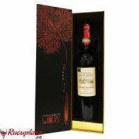 Hộp quà rượu vang Pháp Domaine Sainte Cecile