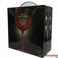 rượu vang bịch chile San clemente 5 lít
