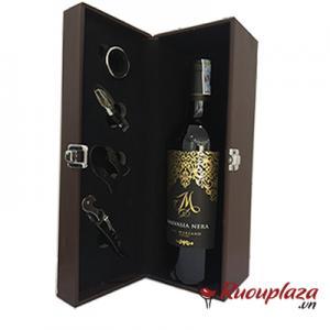 Hộp quà rượu vang ý M