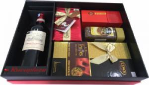 Hộp quà tết rượu vang Pháp Domaine M41