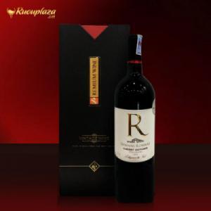 Hộp rượu vang Pháp chữ R-Domain Rombeau