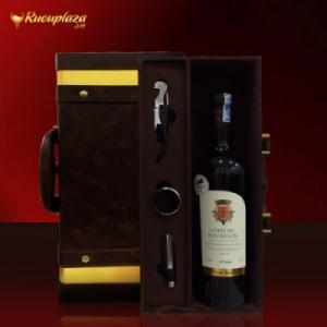 Hộp quà rượu vang Pháp Cotes du Roussilon