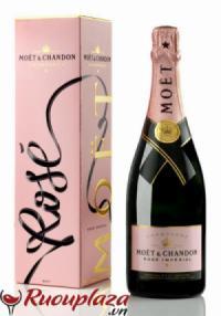Rượu Champagne Brut Moet Rose