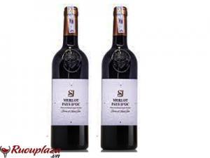 Rượu vang Pháp SJ Merlot Pays DOC IGP