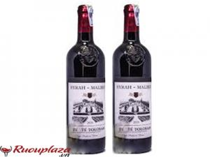Rượu vang Pháp Comte Tolosan Syrah Malbec IGP