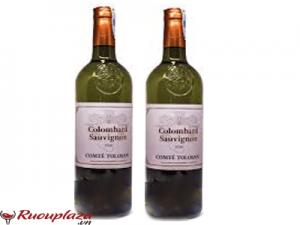 Rượu vang Pháp Comte Tolosan Colombard Sauvignon IGP