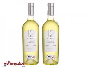 Rượu vang Ý 12 E Mezzo Malvasia